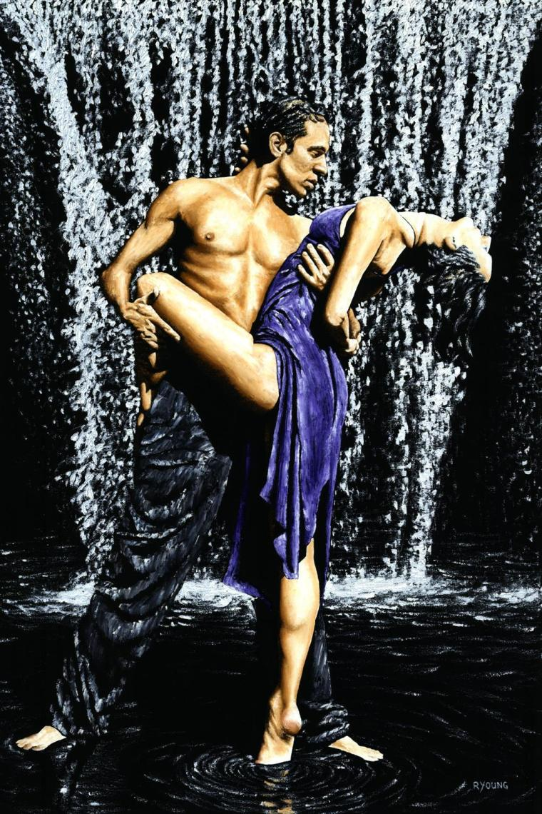 Dancers - Tango and Ballroom Gallery. Tango Cascade. Produced in cooperation with Natalie Laruccia, Walter Perez and Sandra Antognazzi.