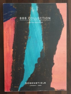 Fine Art Magazine Publications. Publisher Felix Rosensteils publication of their 888 Collection featuring the artwork of Richard Young