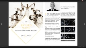 Superior Magazine interview with Richard Young page 100 & 101