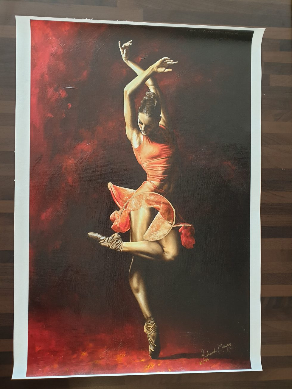 The Passion of Dance Hand Embellished Ltd Edition Print