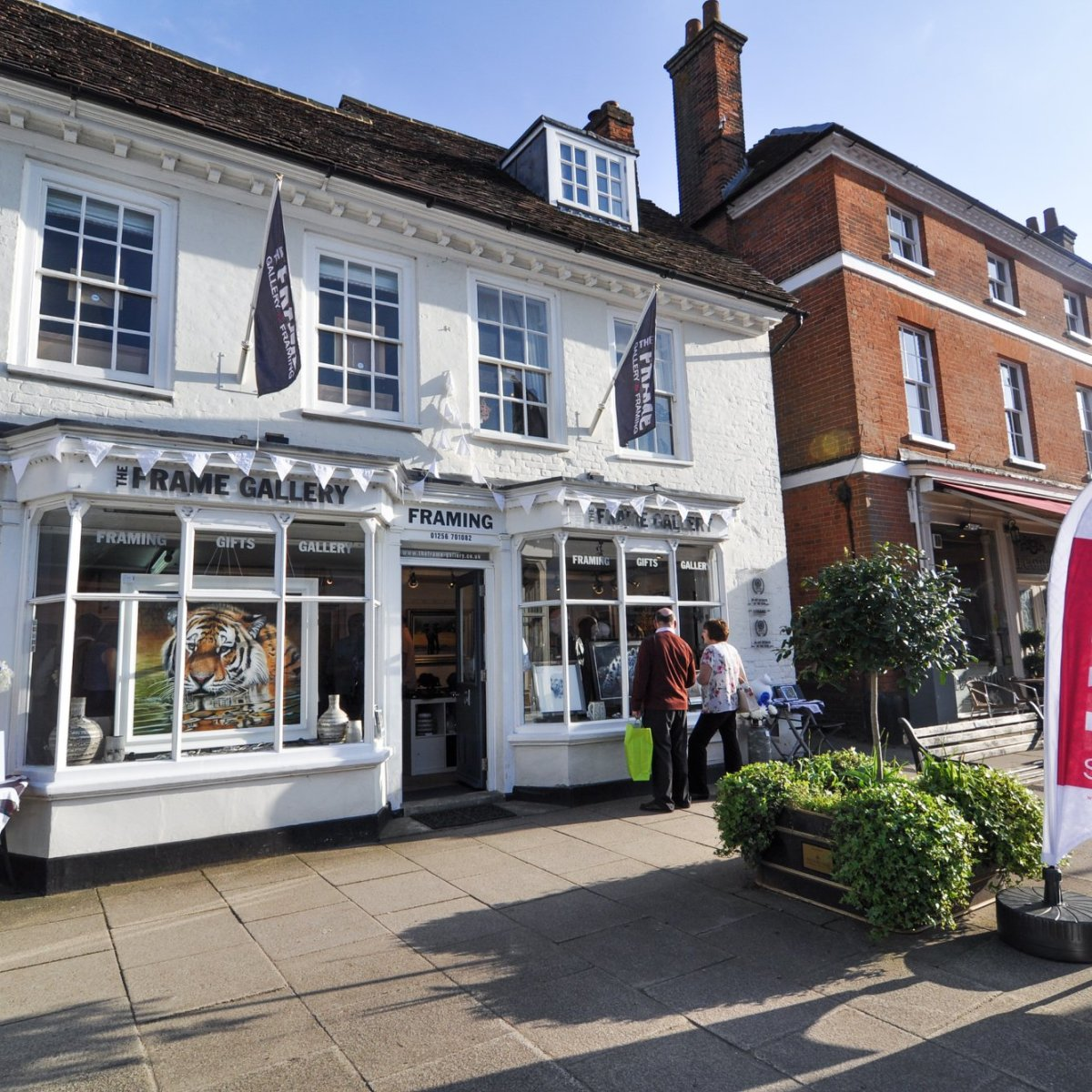 The Frame Gallery Representation - Hampshire. The Frame Gallery, Odiham, Hampshire