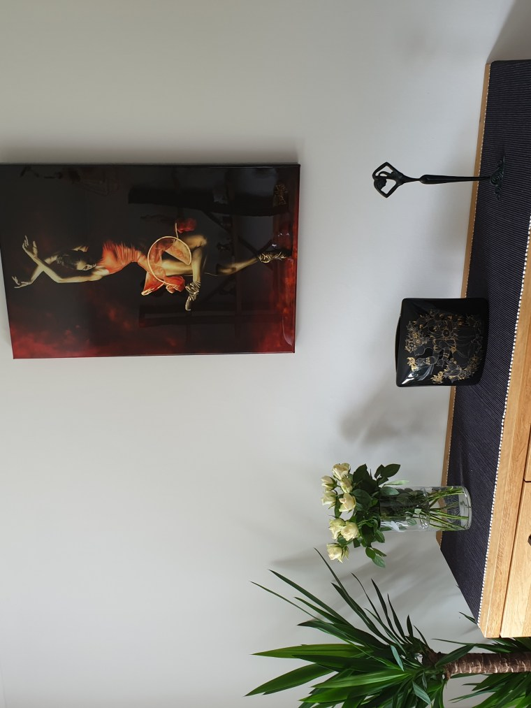 The Passion of Dance - Drew JacobyThe Passion of Dance - Drew Jacoby - Ltd Edition Hand Embellished Resin Print