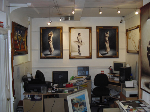 2010 Passion in Art exhibition at Fine Art UK gallery in Ledbury