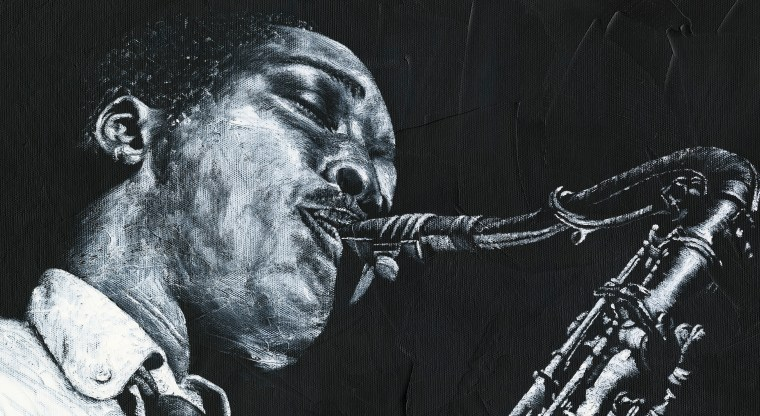 Expressive Sax - High resolution detailed close up