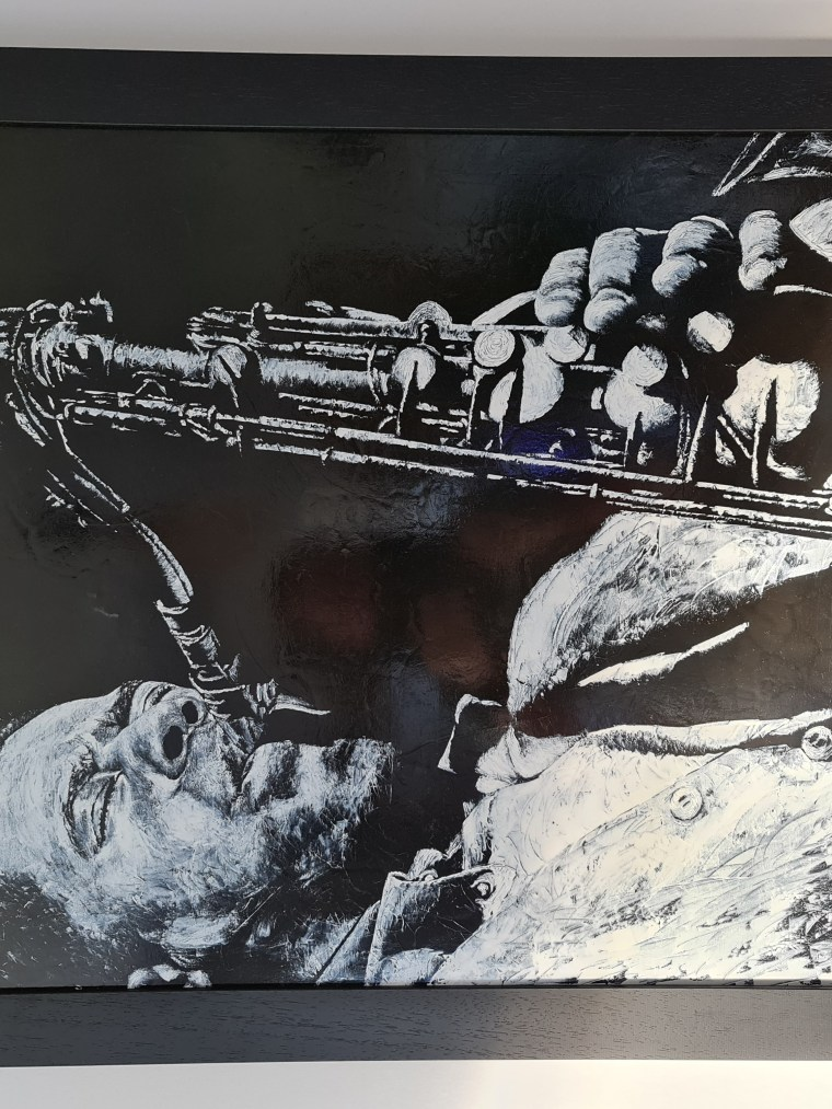 The Passion of Sax - Framed