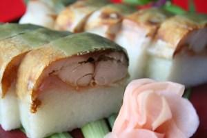 料亭ふみや 焼きさば寿司