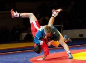 サンボはレスリングと柔道をミックスした競技