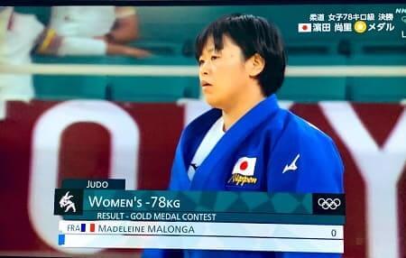濱田尚里選手が金メダルを獲得