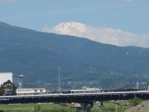 振り向けば富士山