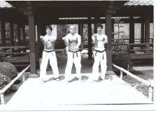 Sanchin with Kimo Sensei and Paul