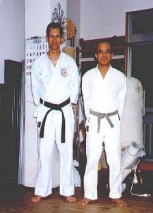 Shinzato Sensei First meeting
