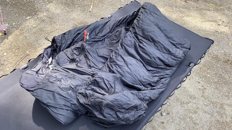 寝袋の写真