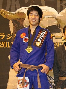 山田選手優勝