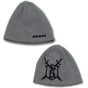 KORAL ニット帽 Medieval Model グレー