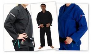 コラル柔術衣オリジナル