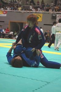 富松恵美選手優勝