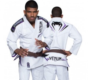 VENUM Elite gi white/purple