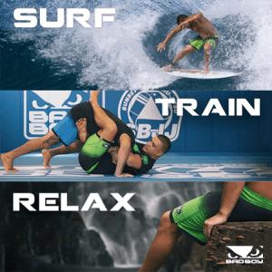 BADBOY Hi-Tide Hybrid Board Shorts