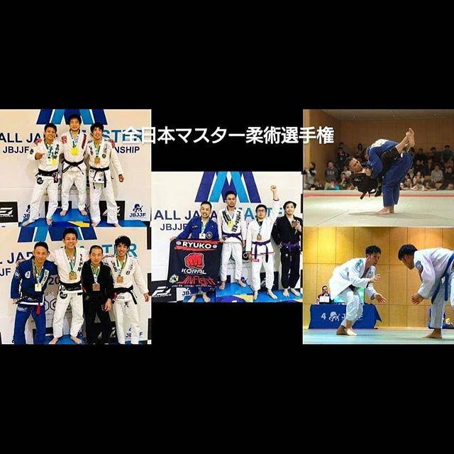 全日本マスター柔術選手権 チーム龍虎
