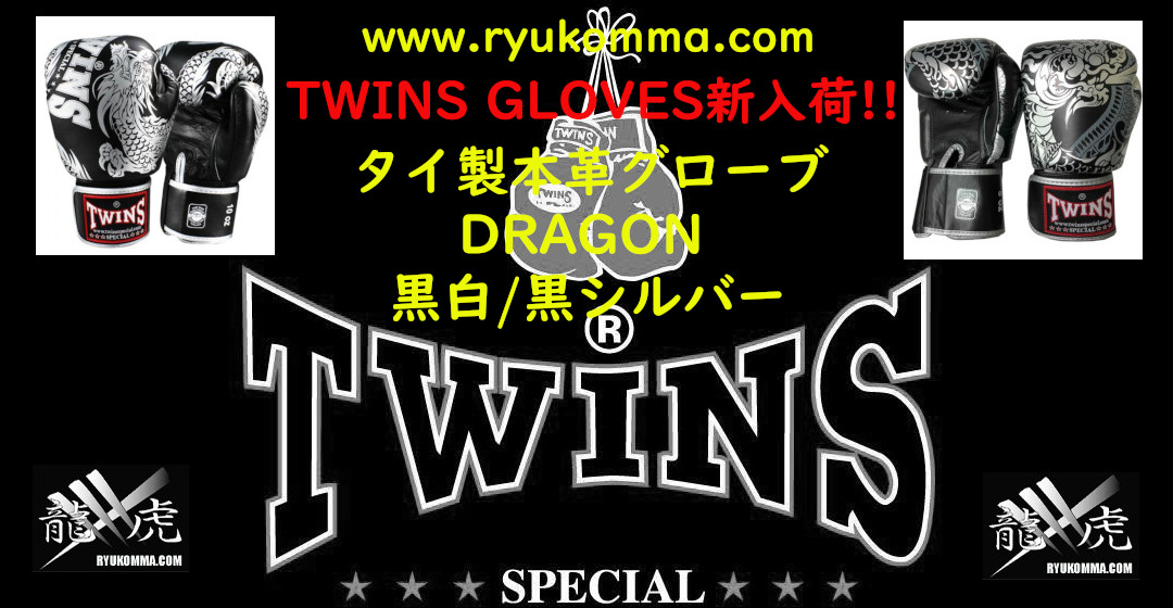 Twins Boxing Gloves 龍虎MMA