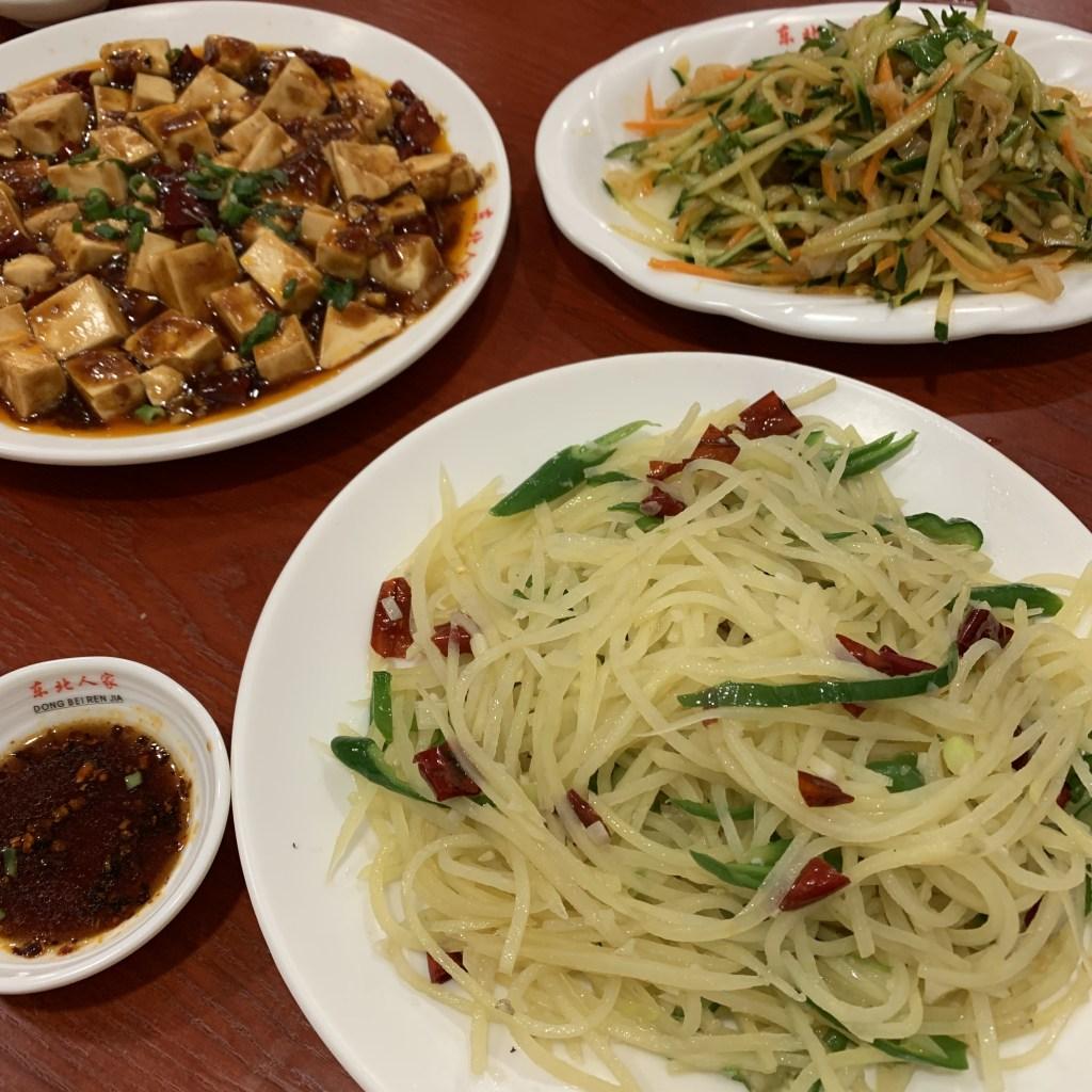 チャイナタウン 中華料理 麻婆豆腐