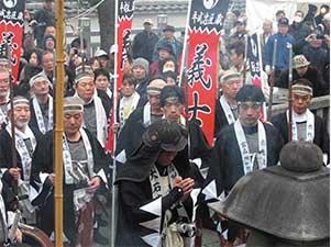 泉岳寺赤穂義士祭
