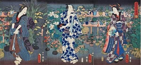 歌川国貞 画