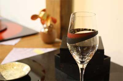 津軽塗コラボワイングラス