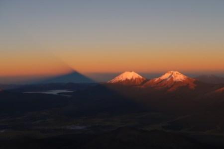 ボリビア最高峰サハマ6542m登頂