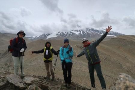 4000m峰登頂