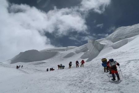 キャンプ1 5400m