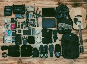 Everything that I own - fits into one backpack