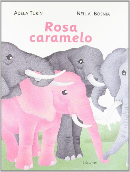 rosa y caramelo