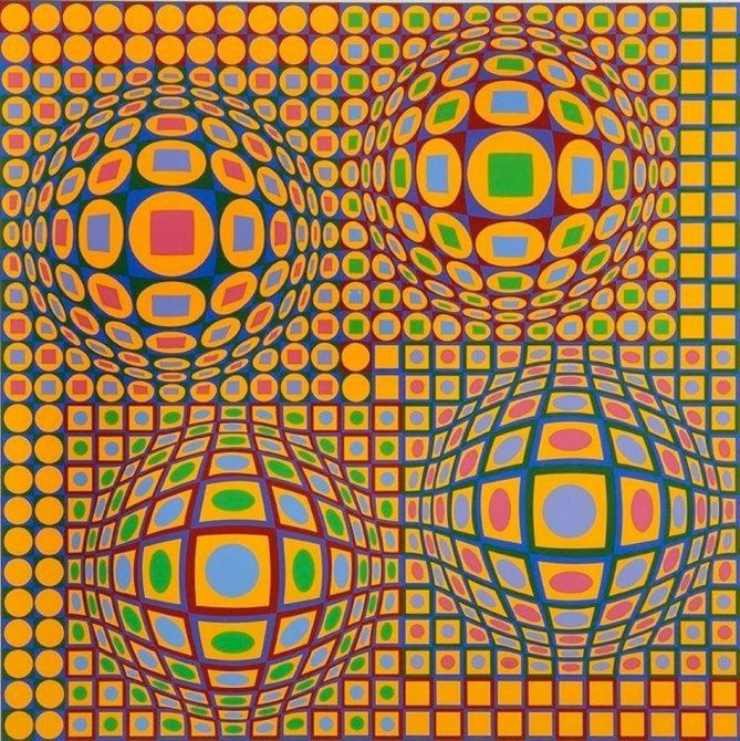 vasarely-quadrature-victor-vasarely