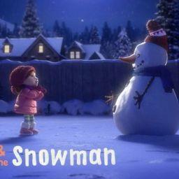CORTOS EDUCAR EN VALORES: Lily y el muñeco de nieve. Un precioso mensaje para la Navidad