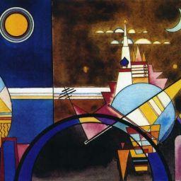 ARTE y MÚSICA para NIÑOS: Kandinsky pinta Los cuadros de una exposición de Mussorgsky
