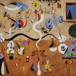 Arte en familia: El carnaval de Arlequín de Joan Miró