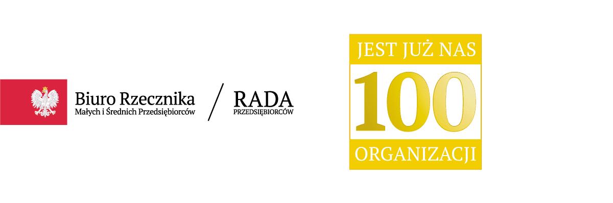 100-organizacji w Radzie Przedsiębiorców