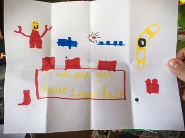 Lego letter