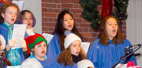Members of the Brick Church youth choir