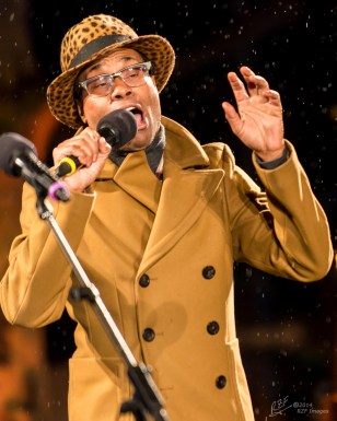 Actor Billy Porter hosted Winter's Eve 2014