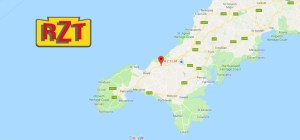 RZT LTD AGRICULTURAL, AMENITY AND LANDSCAPING CONTRACTORS CORNWALL MAP