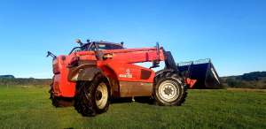 Telehandler Red