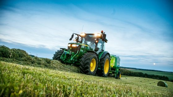 John Deere Tractor Agricultural Services Cornwall