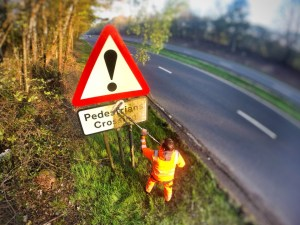 Road Sign Cleaning Cornwall - RZT Camborne