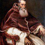 Tycjan - portret papieża Pawła III