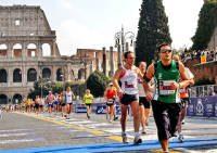 Maraton Rzymski - start przy Koloseum