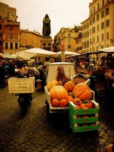 Rzym - plac Campo de' Fiori