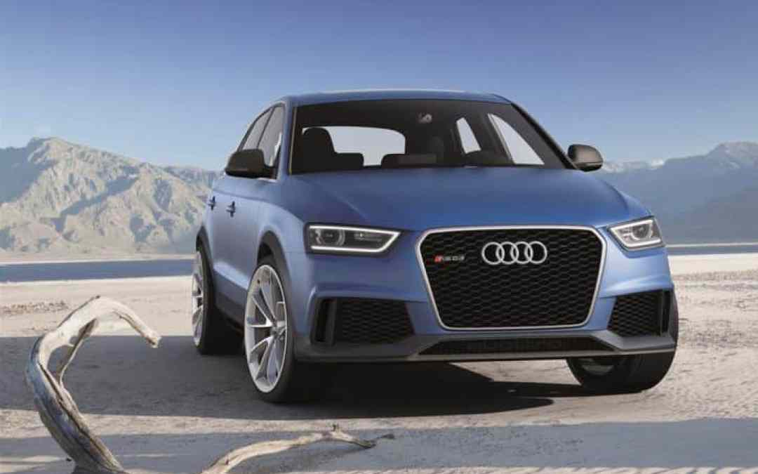 The 2013 Audi RS Q3 Concept Gallery