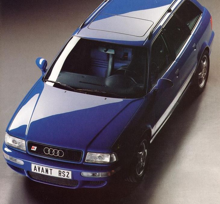 1994 Audi RS2 Sales Brochure